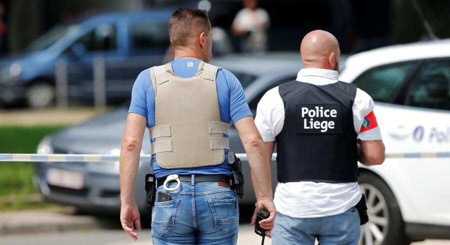 Arkivfoto. Et belgisk par er anholdt med et halvt kilo hjemmelavet sprængstof. Angiveligt ville de angribe iransk gruppe.