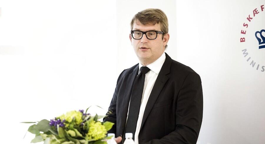 Arkivfoto. Det gavner de ledige og samfundet, når tusinder får job, mener beskæftigelsesminister Troels Lund Poulsen (V).