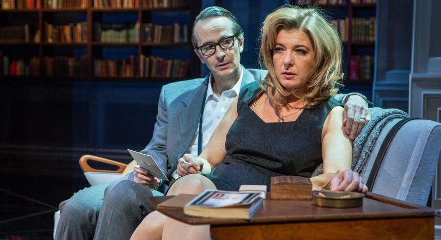 I aften er der premiere på stykket »Toves værelse« i Folketeateret, hvor Paprika Steen spiller Tove Ditlevsen og Lars Brygmann, spiller rollen som Tove Ditlevsens fjerde ægtemand, Victor Andreasen.