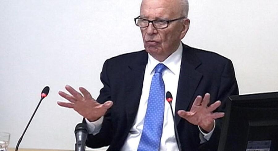 Den 81-årige Rupert Murdochs livsværk er News Corp.