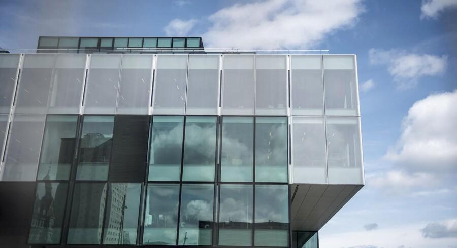 Bygningen Blox mellem Langebro og Det Kongelige Bibliotek i København. To milliarder kroner har fonden Realdania brugt på bygningen i Københavns Havn, der blandt andet skal huse Dansk Arkitektur Center. (Foto: Mads Claus Rasmussen/Scanpix 2018)
