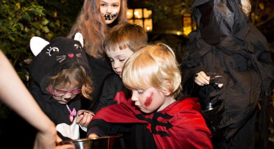 Slik eller ballade... Halloween i Humleby, fredag den 31. oktober 2014 på Vesterbro i København.