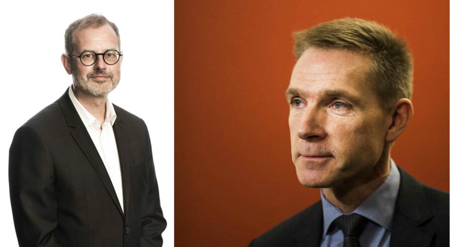 Claus Skovhus og Kristian Thulesen Dahl