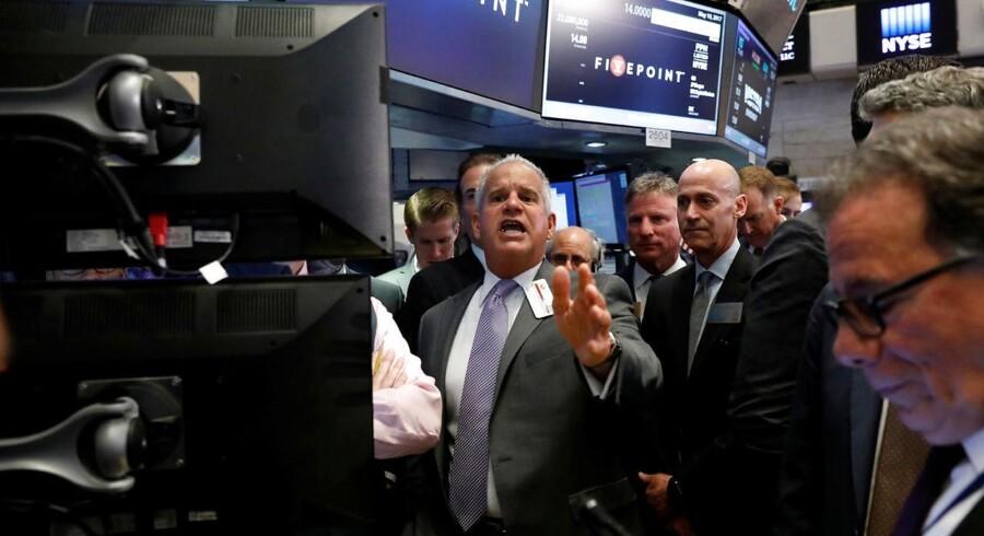 Arkivfoto. Mens mandag viste pæn opdrift på det danske aktiemarked, der sluttede med endnu en kursrekord til C20 Cap - nummer 22 i 2017 - er der mere ro på tirsdag morgen.