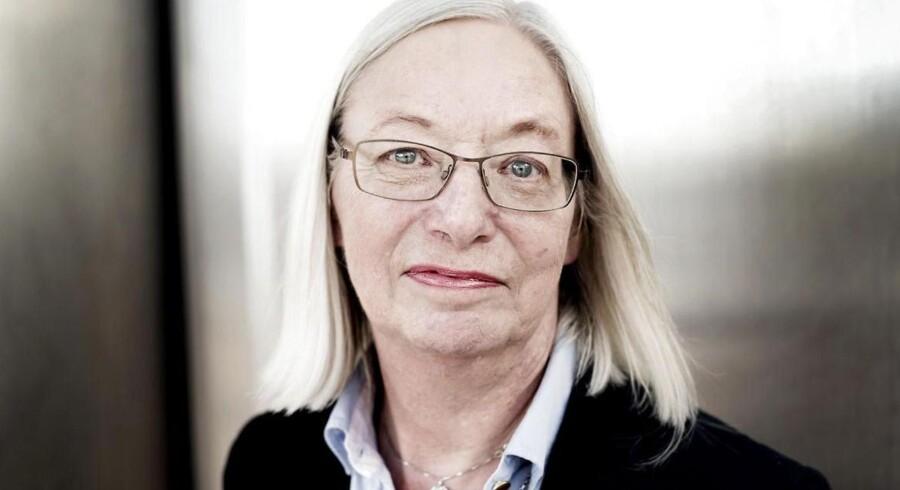 Margrethe Nørgaard har været Skats retssikkerhedschef siden 2006. I 2013 fik hun udvidet sit område, så hun nærmest har fået en ombudsmandslignende funktion. Hun kalder Skats situation på inddrivelsesområdet for dybt problematisk. Foto: Linda Kastrup