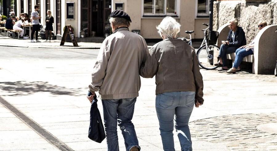 Mens fattigdom er sjældent blandt ældre danskere, har en voksende gruppe af ældre indvandrere meget få penge til rådighed (Foto: Henning Bagger/Scanpix 2017)