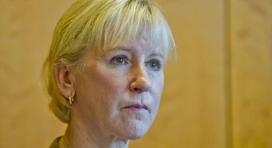 Arkivfoto. Den svenske udenrigsministers kritik af Saudi-Arabien har ført til handelshindringer og massiv fordømmelse fra arabiske organisationer.