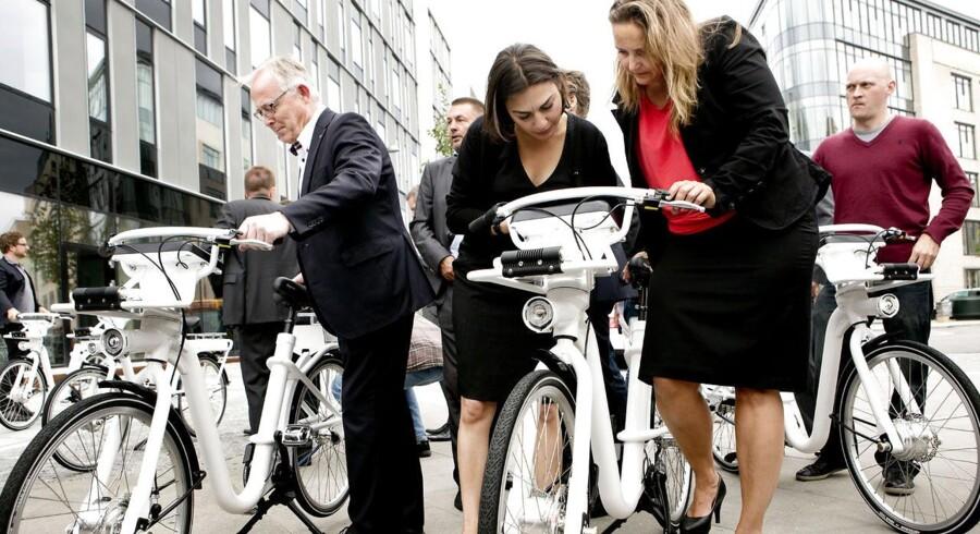 ARKIVFOTO fra præsentationen af Københavns nye bycykel, der går under navnet verdens bedste by- og pendlercykel, præsenteret.