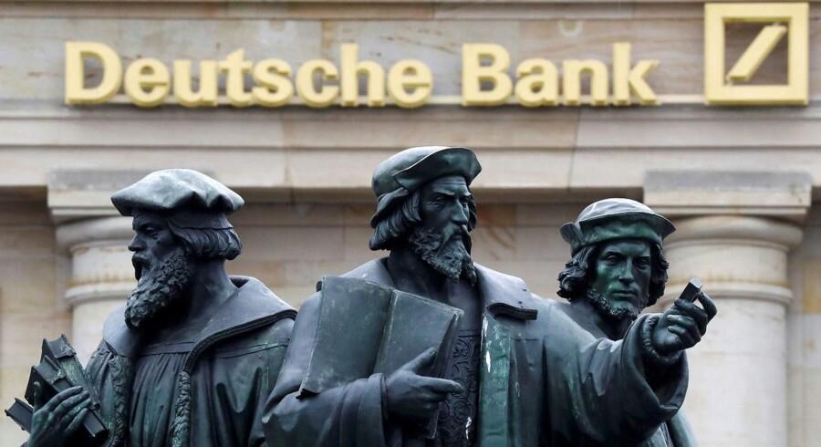 Aktien i Deutsche Bank stiger torsdag for sjette dag i træk.
