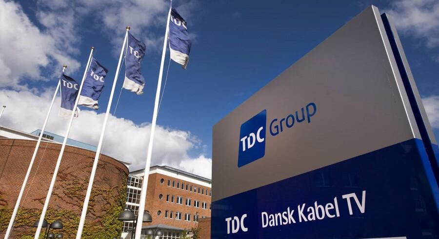 TDC frasælger nu sit IT-udliciteringsselskab, TDC Hosting. Arkivfoto: Torben Klint, Scanpix