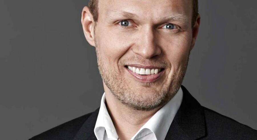 Karsten Anker Petersen, kommunikationschef i Nets. PR-foto.
