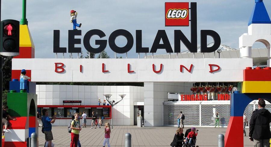 Arkivfoto: Efter flere med voldsom vækst var sidste år mere afdæmpet for Legoland-parkerne verden over, viser regnskab.