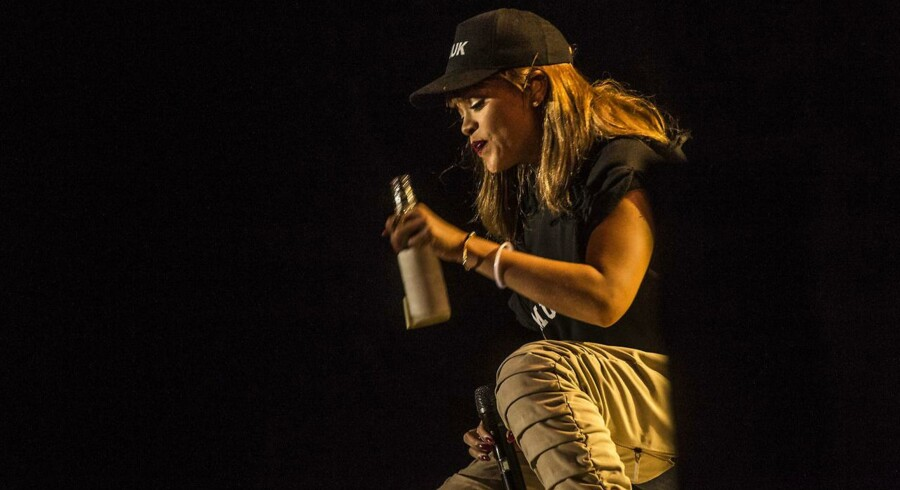 Rihanna havde »den vildeste optur« på Smukfest.