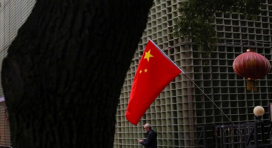 Kinas BNP voksede 6,8 pct. i tredje kvartal. Det viser en opgørelse fra de kinesiske myndigheder torsdag morgen dansk tid.