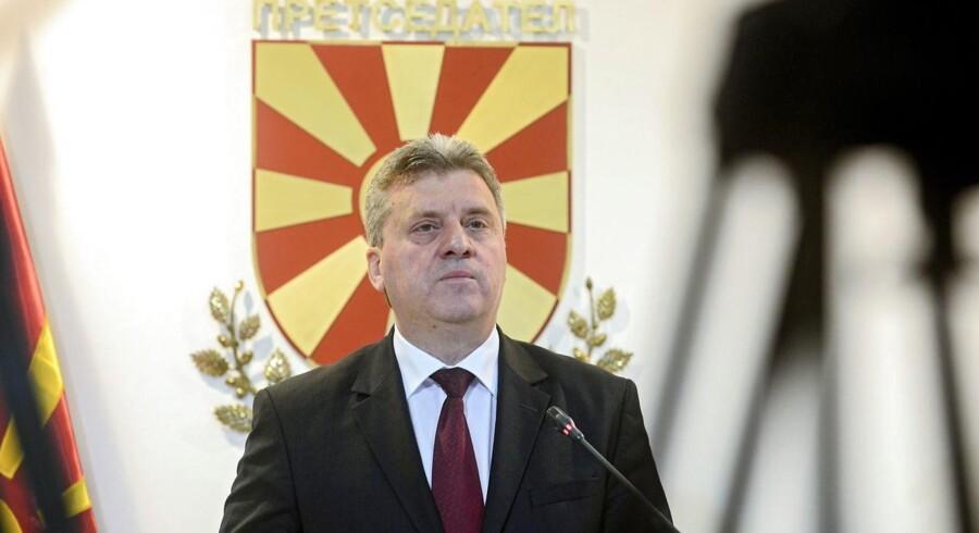 Gjorge Ivanov, arkivfoto