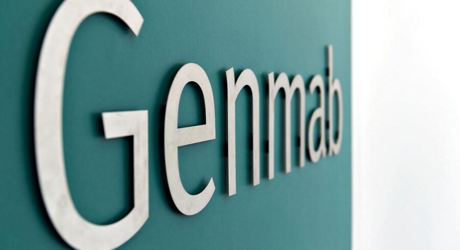 ARKIVFOTO: Genmab logo PR-foto DK