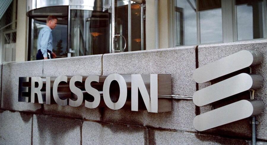 Efterforskning af teleselskabet Ericsson.