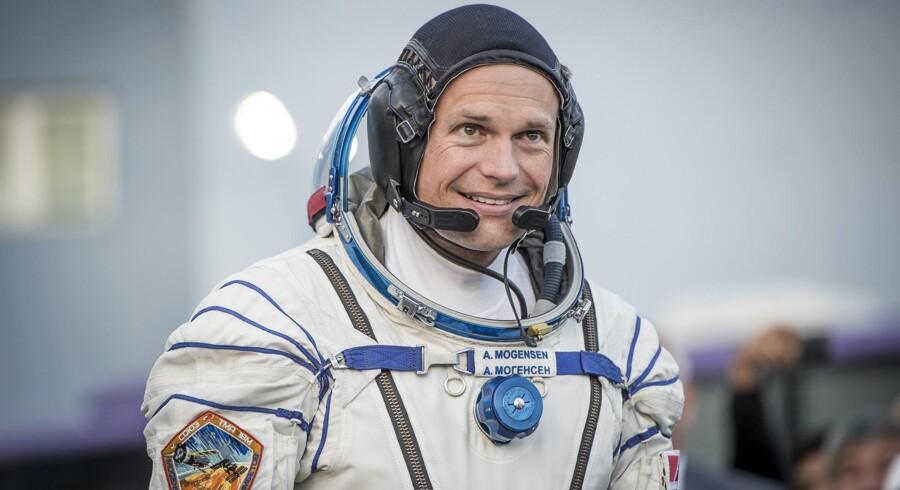 Danmarks første astonaut har fået det, som han vil have det hos rumfartsorganisationerne ESA og NASA. Arkivfoto: Asger Ladefoged