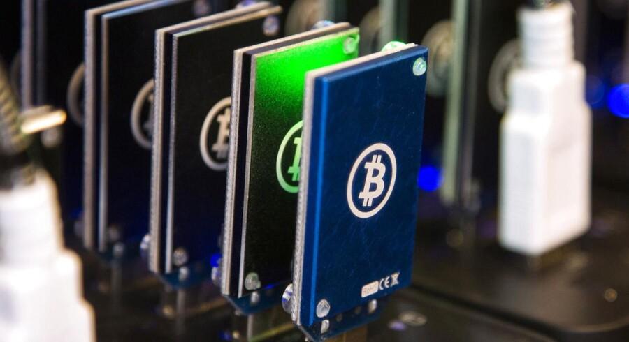 Arkivfoto: Den australske centralbank overvejer at udstede elektroniske pengesedler ved hjælp af teknologien bag kryptovalutaen bitcoin.