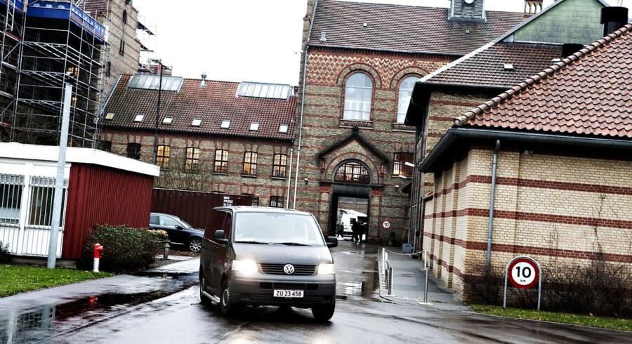 Vestre Fængsel i København - afsoningssted og ifølge fængselsbetjente hvidvaskningscentral. Arkivfoto.