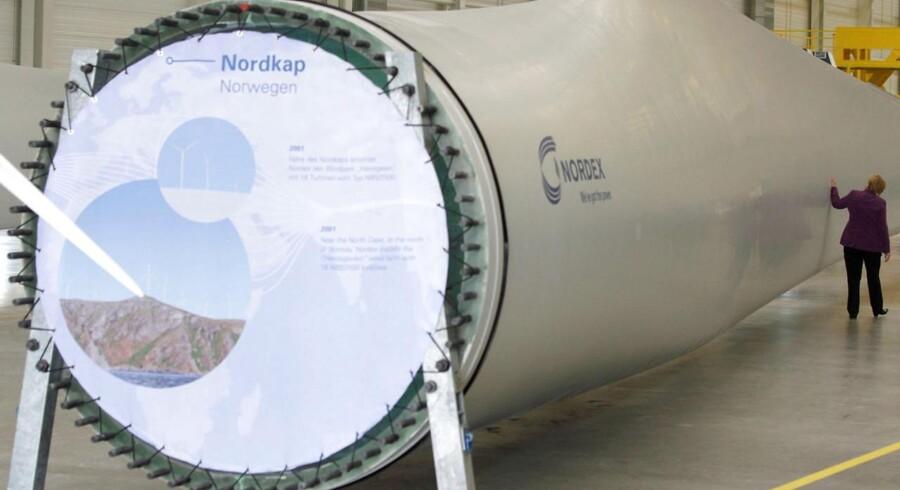 Den tyske vindmølleproducent, Nordex, nedjusterer forventningerne til 2017 efter en skuffende ordreudvikling i tredje kvartal.