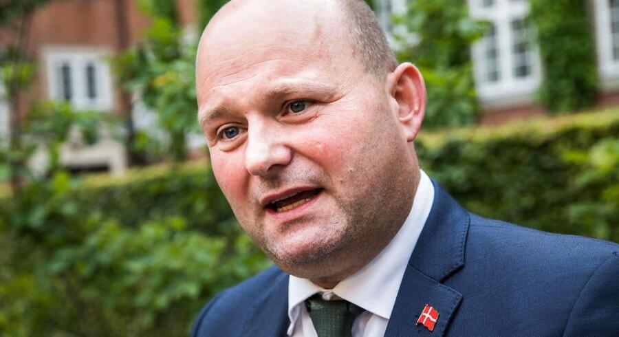 Justitsminister, Søren Pape.