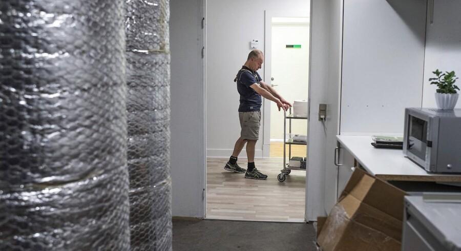 Beskæftigelsen i Danmark fortsætter sin vej opad.