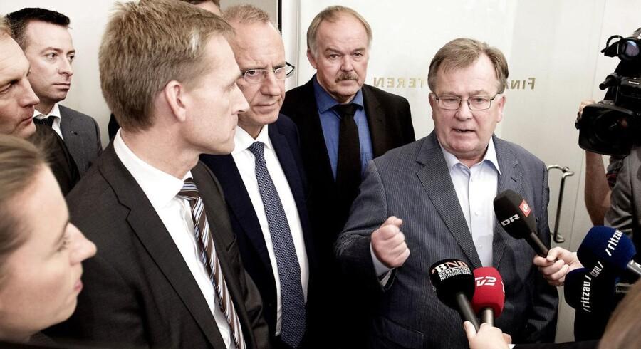 Claus Hjort Frederiksen, Kristian Thulesen Dahl og Mette Frederiksen. Dansk politiks nye trekløver?