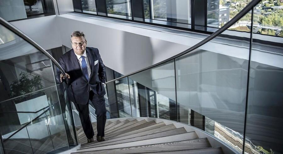 Anders Runevad, administrerende direktør for Vestas, har svært ved at finde håret i suppen i selskabets seneste Q1-regnskab.