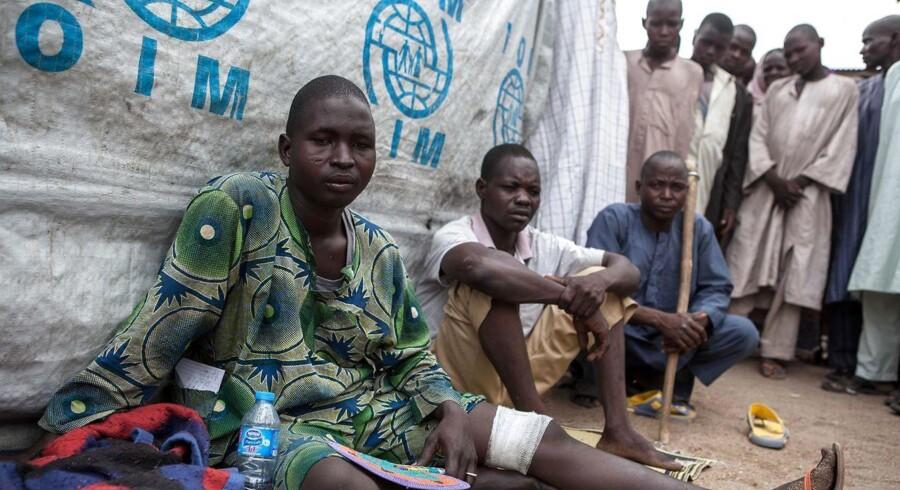 Myndighederne i det sydlige Niger har sat tal på antallet af bortførte kvinder efter et angreb søndag. / AFP PHOTO / FLORIAN PLAUCHEUR