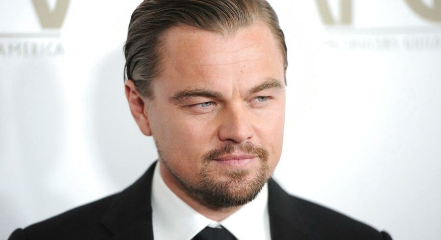 """Leonardo DiCaprio er en af stjernerne i """"The Wolf of Wall Street"""", der er blandt de film, hvori ordet """"fuck"""" hyppigst optræder."""