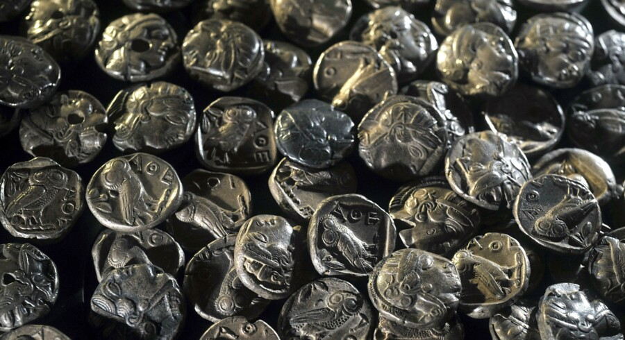 I 2007 lokaliserede skattejægere skibsvraget Black Swan, der med en last på 17 tons sølvsmønter var en af største skattefund nogensinde. - Arkivfoto