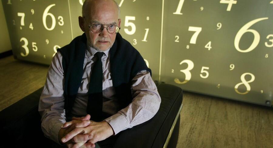 Samfundsforskeren Gunnar Viby Mogensen har for vane at gøre tørre tal muntre.