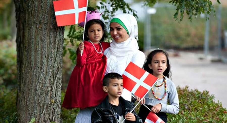 Centrum-venstre bør åbent erkende, at antallet af nytilkomne indvandrere og flygtninge spiller en betydelig rolle for at opnå succesfuld integration – her fra regentparrets besøg i Randers tidligere i år.