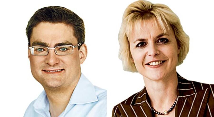 Lykke Friis, ligestillingsminister (V) og Søren Pind, udviklingsminister (V)