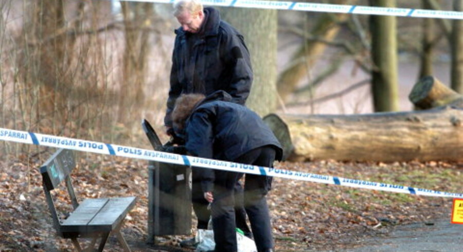 Stedet, hvor Fabian Bengtsson blev fundet. Fotos: Scanpix