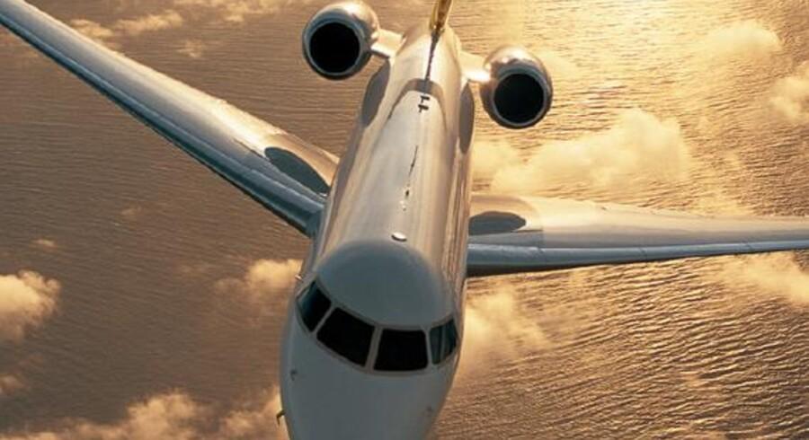 Det er et fly af typen Global 5000 fra Bombardier, som regeringsmedlemmer fra den tyske regering snart kan sætte sig i. De gamle hed Challenger og var, ja, meget gamle.
