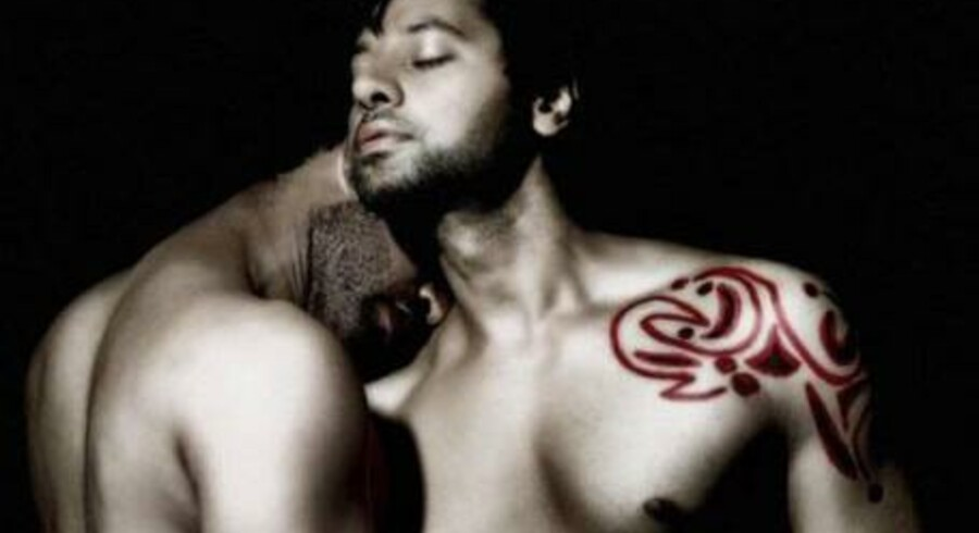 Fra filmplakaten til Dunno Y. Bollywood lover Indiens første bøssekys i biografen.