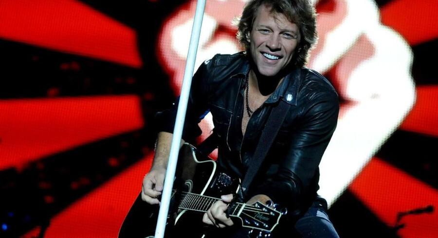 Bon Jovi - kongerne af 2010s koncertscene