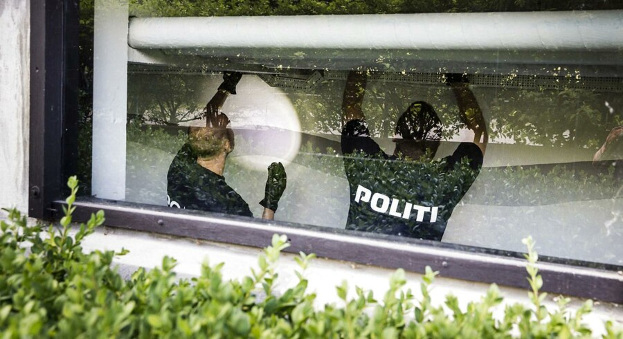 ARKIVFOTO. Betjentene på billedet har ikke noget med historien at gøre.