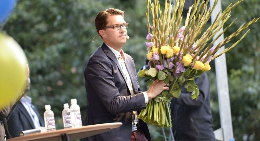 Sverigedemokraternas partileder Jimmie Åkesson