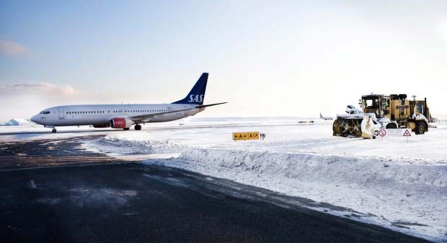 Vinteren har ramt hele landet i år – også Kastrup Lufhavn.