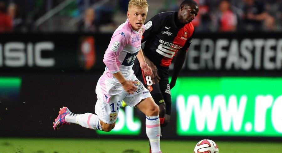 Daniel Wass og Evian tabte til Marseille.