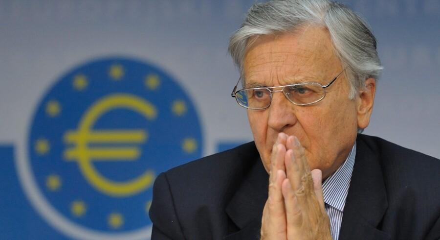 Chefen for Den Europæiske Centralbank, Jean-Claude Trichet, er stadig bekymret for krisen.