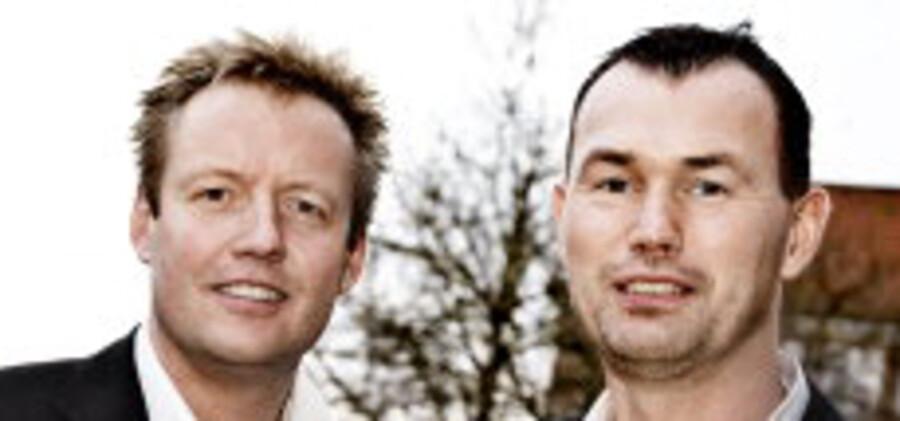 Frifindelsen af Jesper Larsen og Michael Bjerre blev fejret i Dansk Journalistforbund, hvor der var stor tilfredshed med dommen.<br>Foto: Linda Henriksen