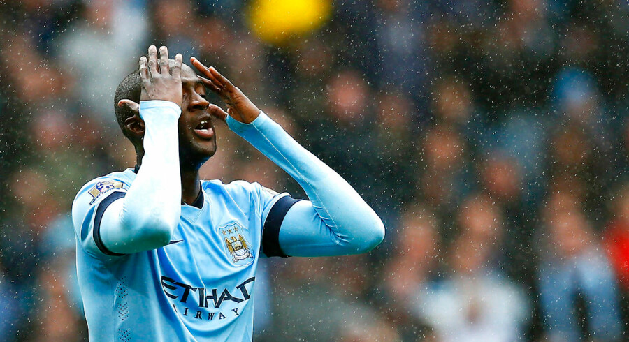 Manchester City skuffede fælt hjemme mod Stoke.