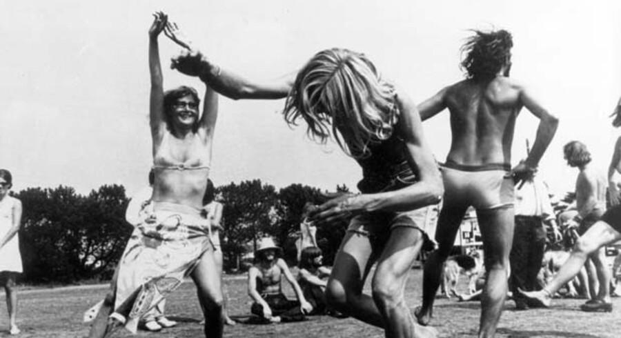 Fede tider i »Det Ny Samfund«. Thylejren var et omdrejningspunkt i 1970ernes rockkultur.