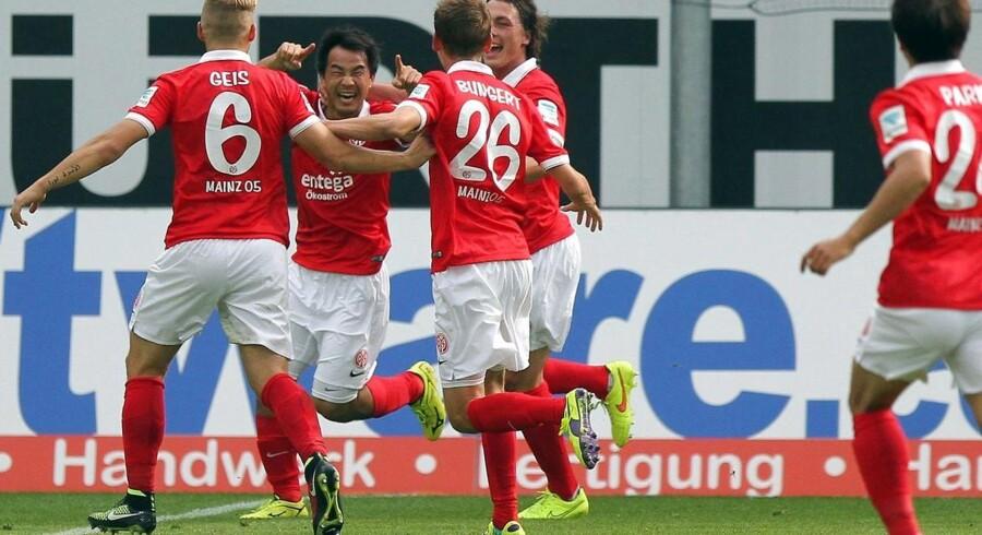 Mainz fik det ene point med hjem fra Paderborn.