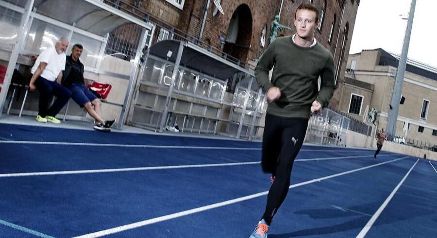 Kristoffer Hari ved, at han kunne have vundet ungdoms-OL, hvis han havde været skadesfri.