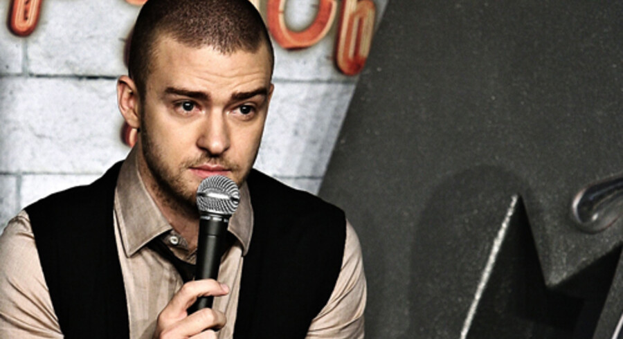 Justin Timberlake. Foto: Liselotte Sabroe